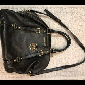 Michael Kors Black Satchel